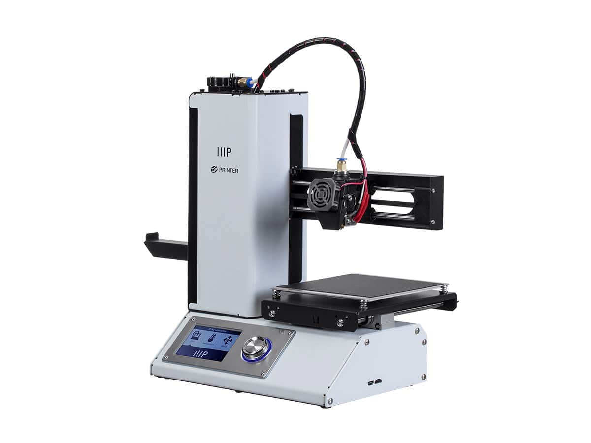 MP Select Mini 3D Printer V2, White $200