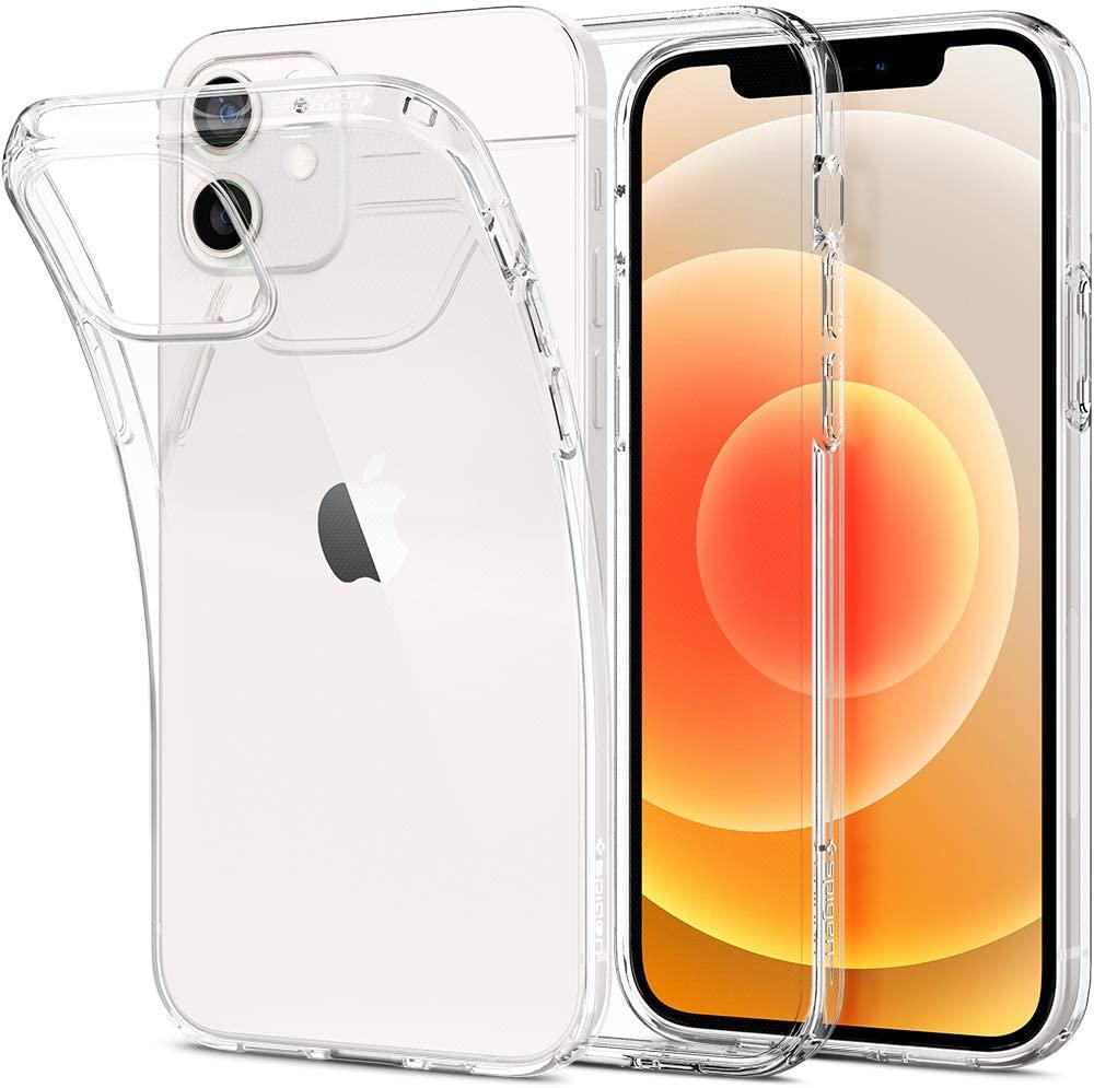 Spigen Liquid Crystal Apple iPhone 12/12 Pro Case (2020) - Crystal Clear $10.99