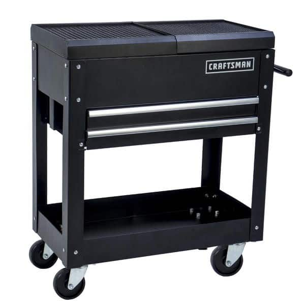 "Craftsman 31"" 2-Drawer Mechanic Tool Cart, Receive $100 pts $99.99"