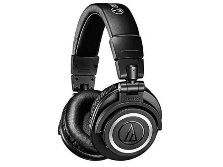 Audio-Technica ATH-M50xBT Wireless Bluetooth Over-Ear Headphones $129.99