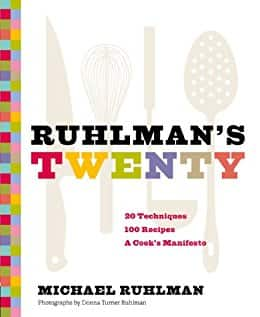 Kindle cookbook: Ruhlman's Twenty: 20 - $2.99