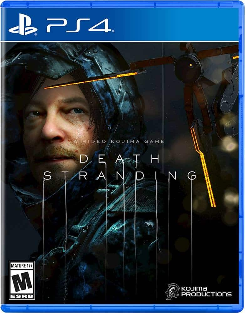 Death Stranding PS4 $39.99 @ Bestbuy.com/Amazon.com