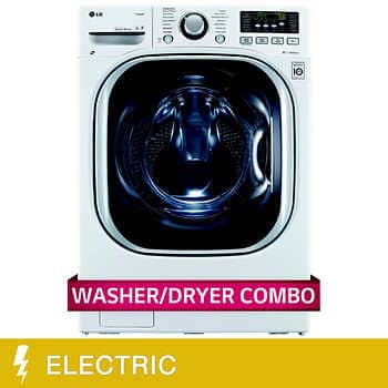 LG All-in-One 4.2CuFt Ultra Large Capacity Washer - Dryer includes White Glove delivery $1299