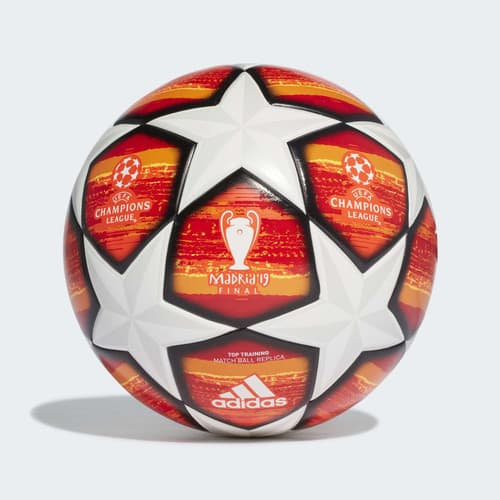 Adidas Champions League Finale Madrid Top Training Ball Size 4 $19.6