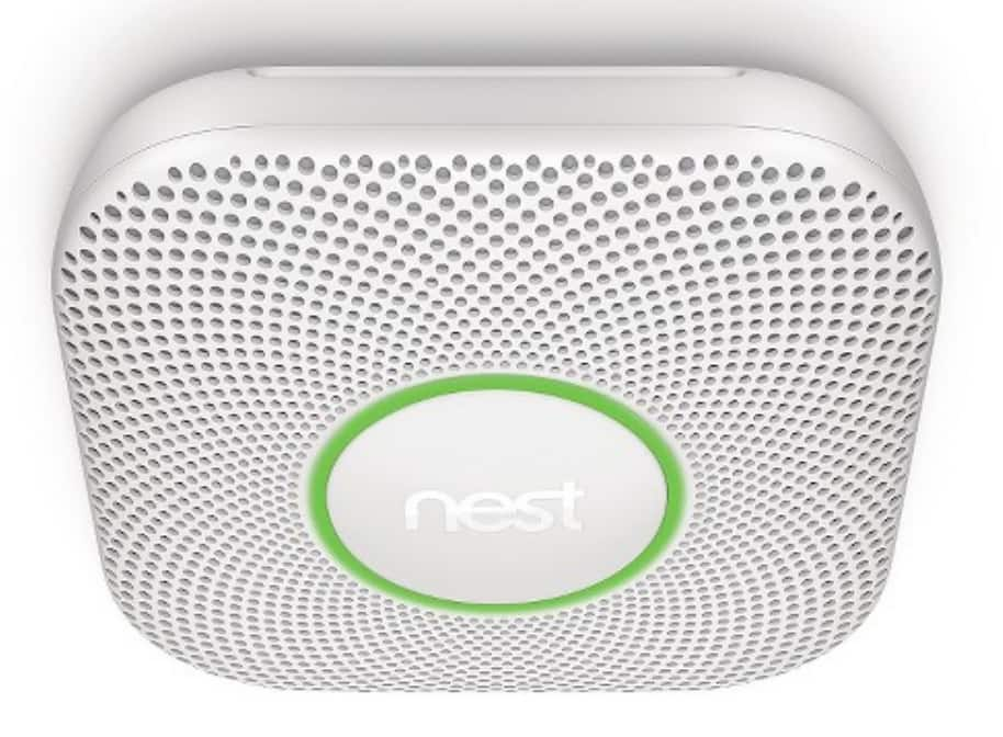 Target (In store) : Nest Protect Smart Smoke/Carbon Monoxide Alarm (2nd Gen) + Google Home Mini : $ 77.35  + tax