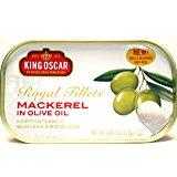 King Oscar Skinless & Boneless Mackerel Fillets in Olive Oil (Pack of 12) as low as $14.12 (S&S) $17.14