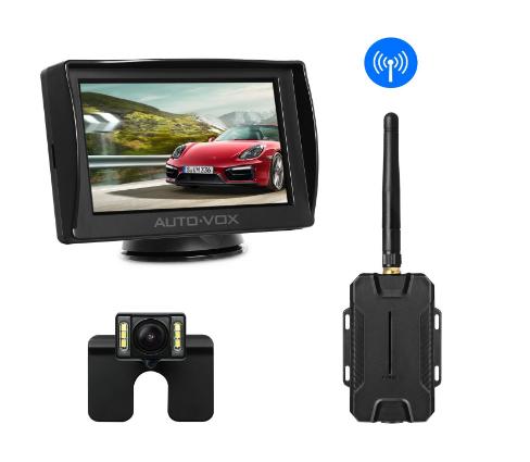 AUTO-VOX M1W Wireless 4.3'' TFT Backup Camera Kit for $63.79 @Amazon FS w/ Prime