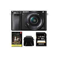 Groupon Deal: Sony A6000 + 16-50mm lens + Lightroom 5 + 64gb memory card + bag $749.99