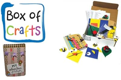 Cratejoy - Box of Craft Supplies for Kids - First Month Free!