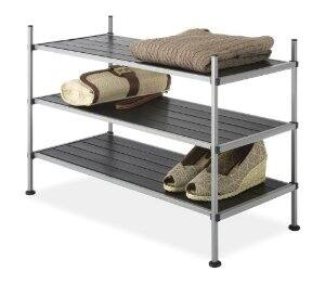 Whitmor 6779-4579 3-Tier Storage Shelves - $10.79 AC - Ships in 1-2 Months