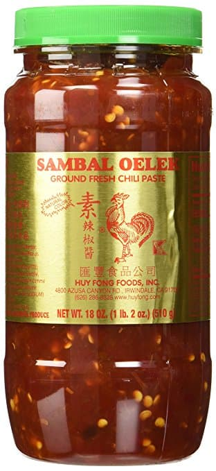 18-Oz Huy Fong Foods Sambal Oelek Ground Fresh Chili Paste  $2.40 + Free Store Pickup