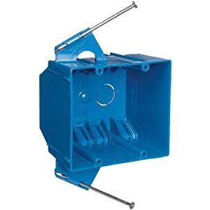 Thomas & Betts B232A-UPC Carlon Pvc 32 cu. in. Bulk 2 Gang Box - $0.25 + FS w/prime