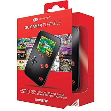 Staples In-Store Pickup Only - GO GAMER PORTABLE VIDEO GAMES - $3.99
