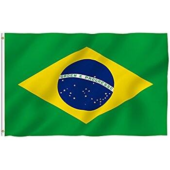 """3ft x 5ft Flags - Brazil, Deadman's Chest Pirate, Carbine Rifle """"Come and Take it"""" - $0.49 or $0.50 + FS w/Prime"""