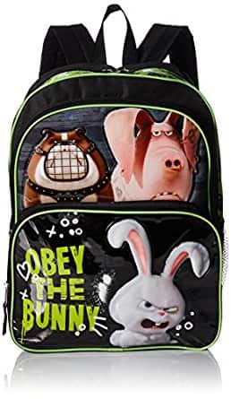 Addon Item - The Secret Life of Pets Backpack Obeybunny Accessory - $3.43 + Ships with a $25+ Order