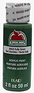 Apple Barrel Acrylic Paint in Assorted Colors (2 oz), 20523, Kelly Green - $0.50 + FS w/Prime