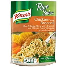Knorr Rice Sides Rice Sides Dish, Chicken Broccoli, 5.5 Ounce - $1.09 + FS w/Prime