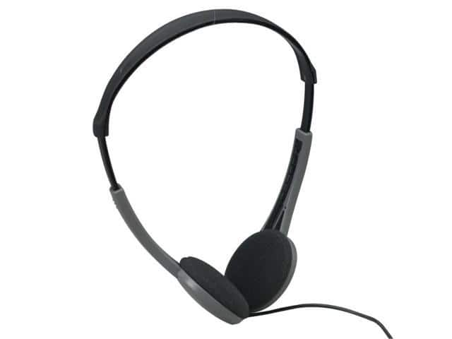 Maxell HP-200F Lightweight Stereo Headphones, 3.5mm Jack, 4ft Cable - $0.52 + FS w/Premier