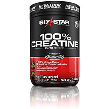 400g (80 servings) Six Star Unflavored 100% Creatine Powder $4.85 w/ S&S