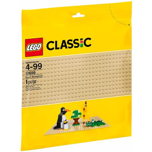 LIVE -  LEGO 60th Anniversary Exclusive Bundle: LEGO Classic Creative Building Set 10702 & Sand Baseplate - $5.65