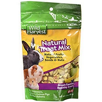 3-Ounce Wild Harvest Small Animal Treat Mix (Fruits, Nuts, Seeds, Veggies) $2.14 + Free Prime Shipping