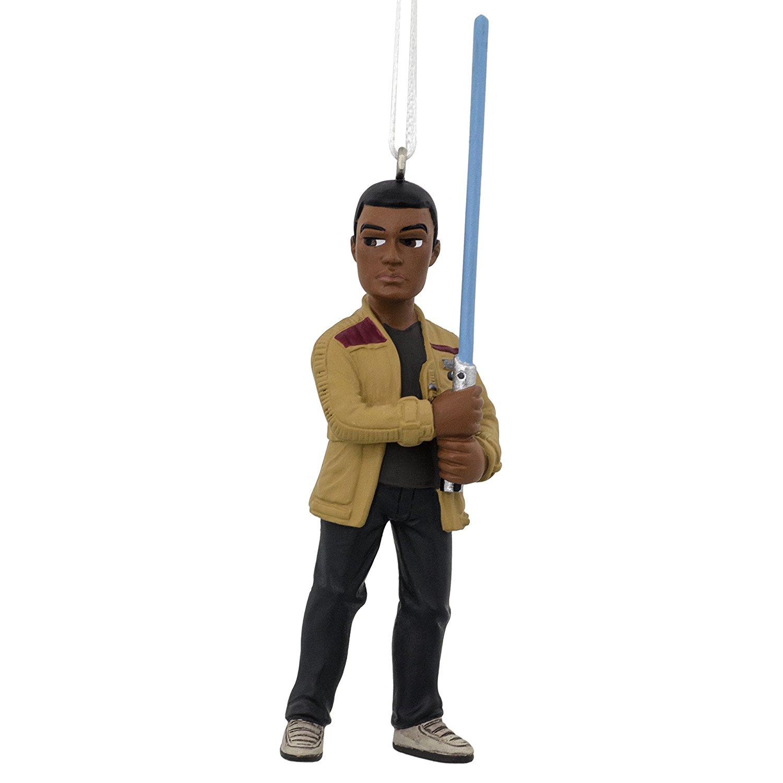 Hallmark Star Wars: The Force Awakens Finn Christmas Ornament $2.31 + Free Prime Shipping
