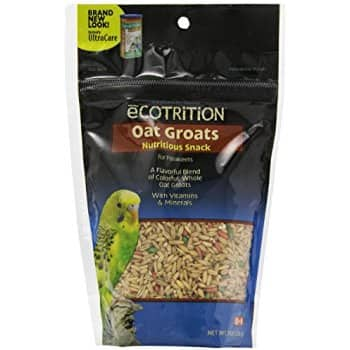 8-Ounce eCOTRITION Oat Groats Parakeet Food $2.15 + Free Prime Shipping
