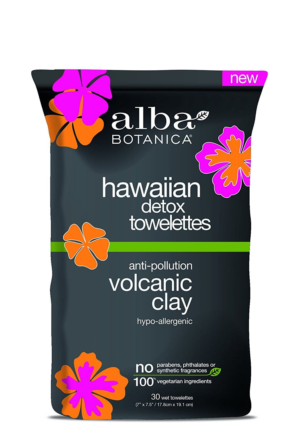 Add-on Item: 30-Count Alba Botanica Hawaiian Detox Towelettes $1.55