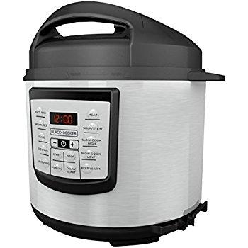 20% off Black+Decker Appliances: 1.5-Cup Food Processor $9.40, 6-Quart Pressure Cooker $64, 8-Cup Food Processor $23 & More