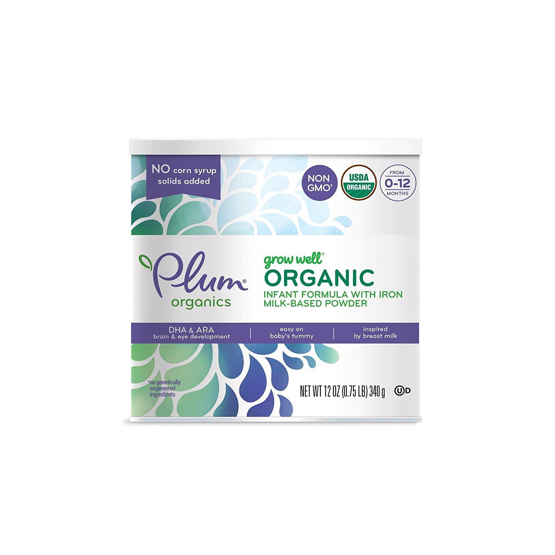 Prime Exclusive: 12-Ounce Plum Organics Grow Well Organic Infant Formula $2 + $2 Sample Credit