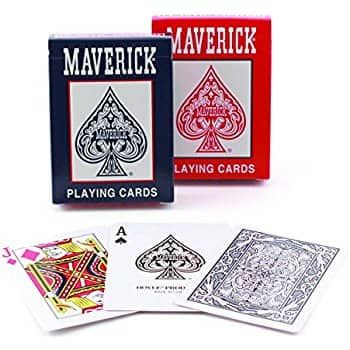 Maverick Standard Index Playing Cards, 1 Deck(Colors May Vary) $0.88 + Free Prime Shipping