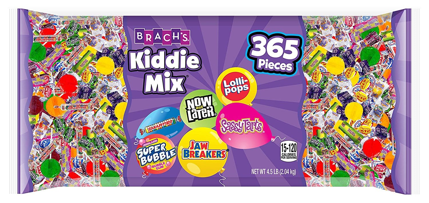 365-Count Brach's Kiddie Mix Candy Party Mix (Assorted Candy) $4.86 w/ S&S + Free Shipping