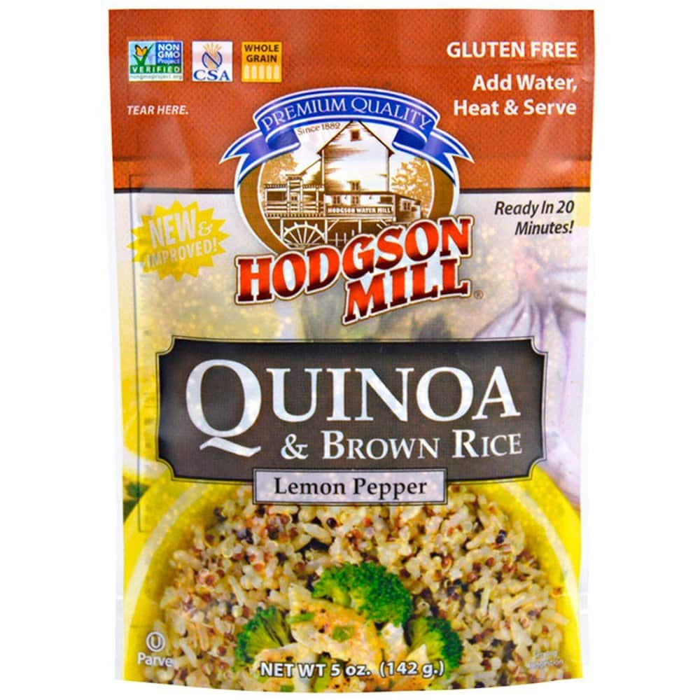 Hodgson Mill Quinoa and Brown Rice, Lemon Pepper, 5 Ounce (Pack of 6) $2.59 w/ S&S + Free S&H