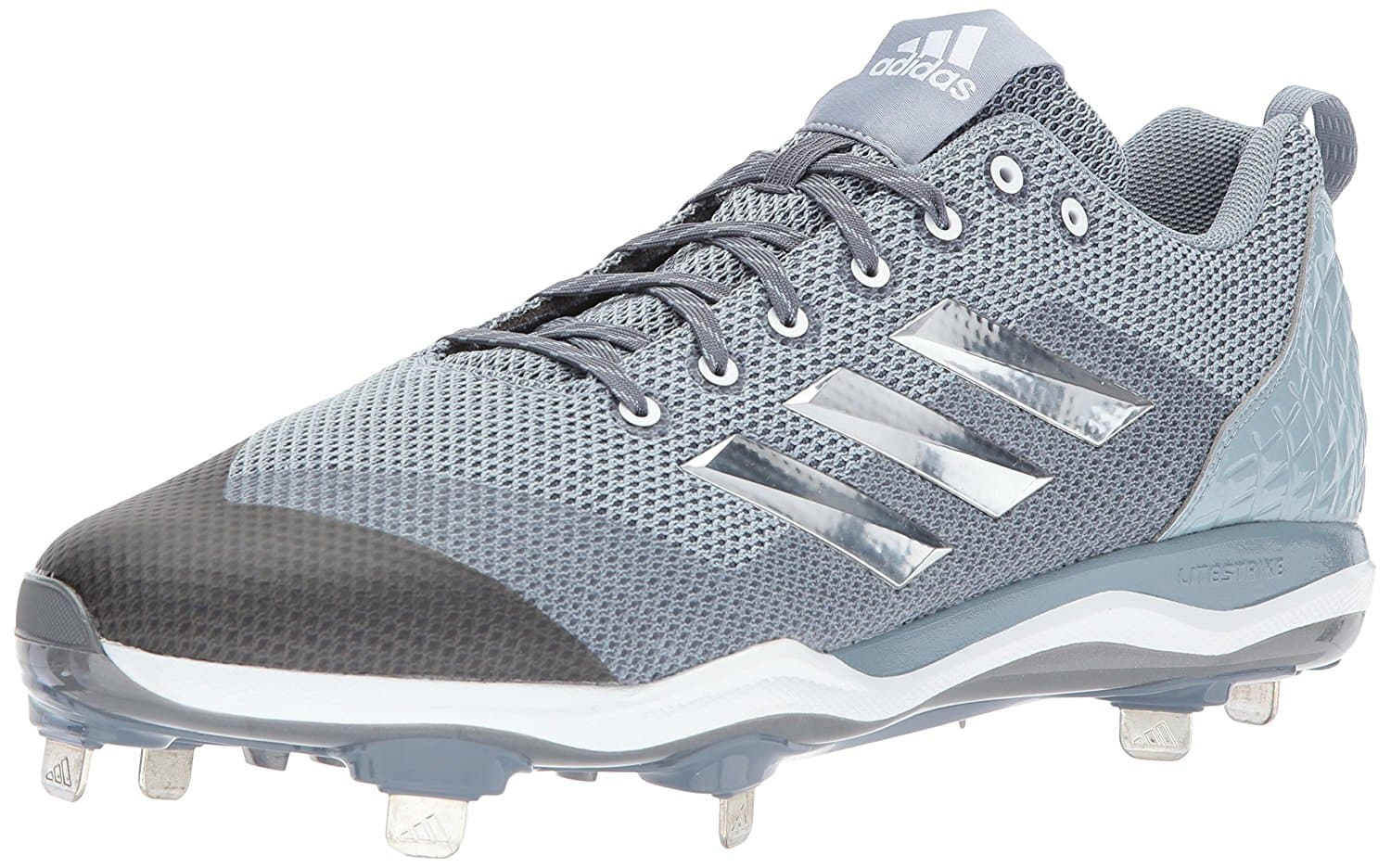 adidas Men's PowerAlley 5 Baseball Shoe, Onix/Silver/Grey (Size 17 Only) $12.35 + Free Prime Shipping