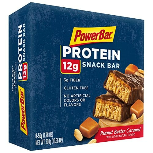 6-Count 1.76oz Powerbar Protein Snack Bars (Peanut Butter Caramel) for $3.80 s/ S&S + Free S&H