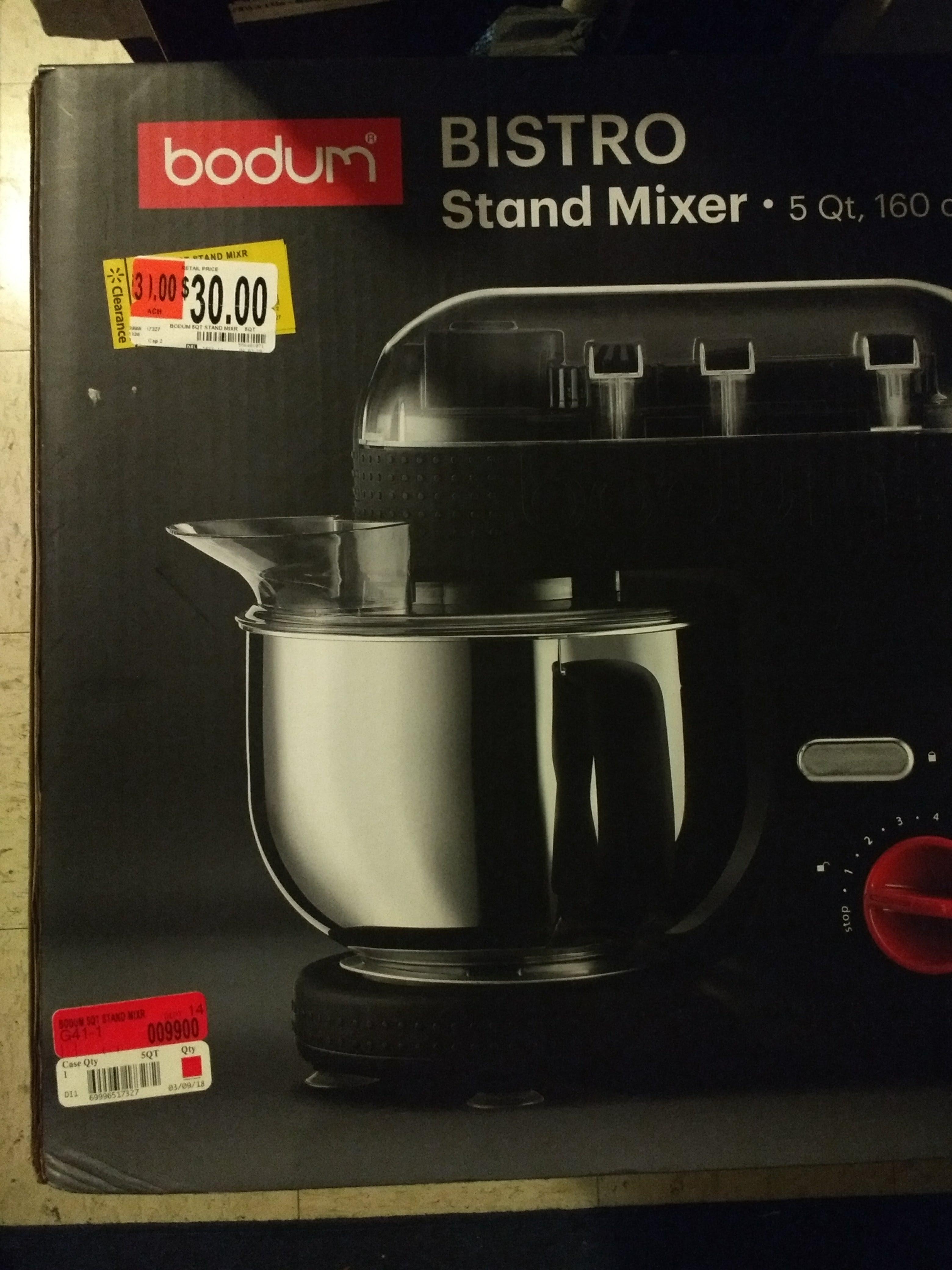 Walmart Electric Mixer ~ Walmart b m ymmv bistro electric stand mixer qt