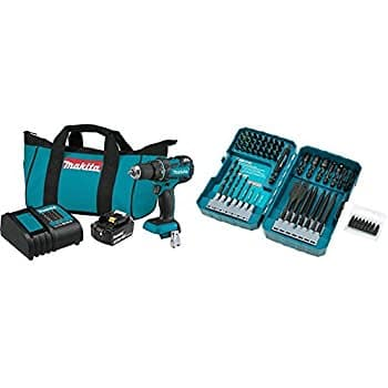 "Makita 18V LXT Li-Ion Compact Brushless 1/2"" Driver Drill Kit with 70-pc Bit Set for $135.74 + Free Shipping"
