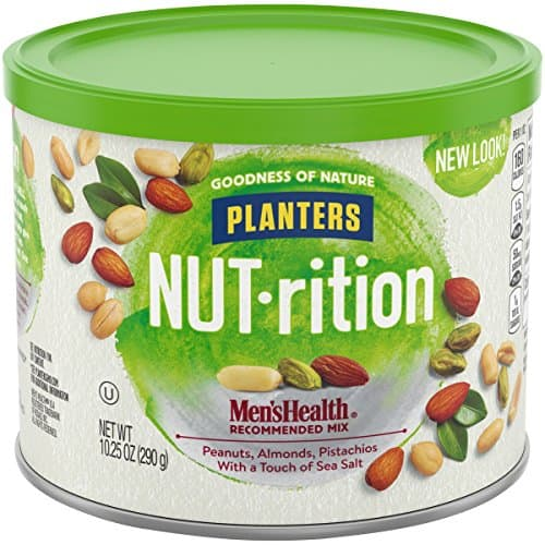 10.25oz Planters Mixed Nuts, Men's Health Mix for $4.74 w/ S&S + Free Shipping