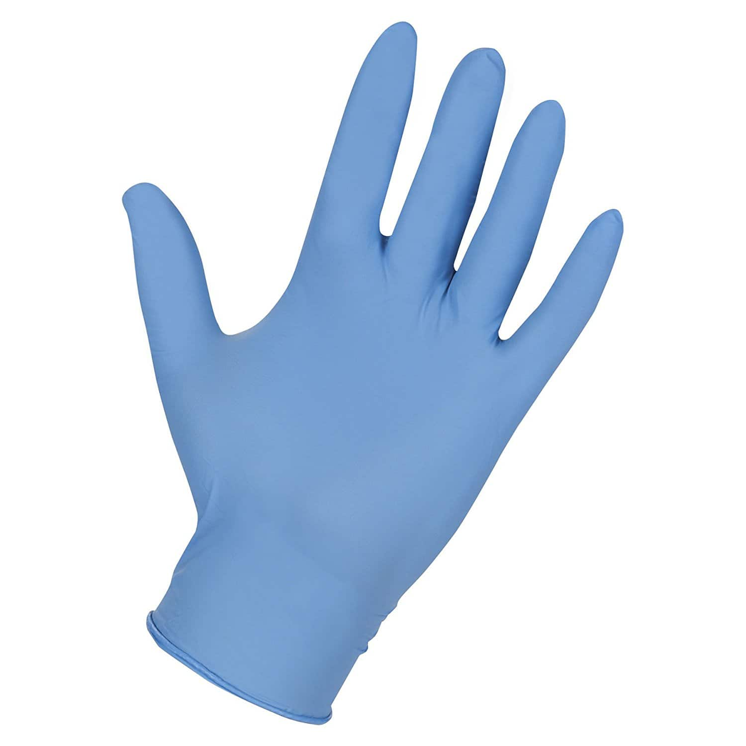 100ct Genuine Joe XL Nitrile Gloves (Light Blue) for $1.31 w/ S&S + Free F&H