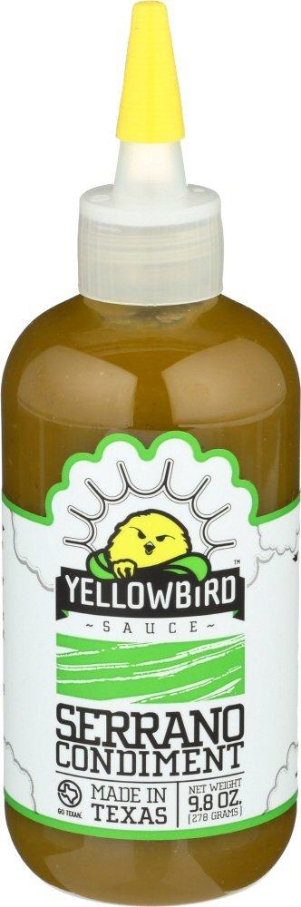 Yellowbird Serrano Condiment Sauce (9.8oz) for $3.98 + Free Prime Shipping