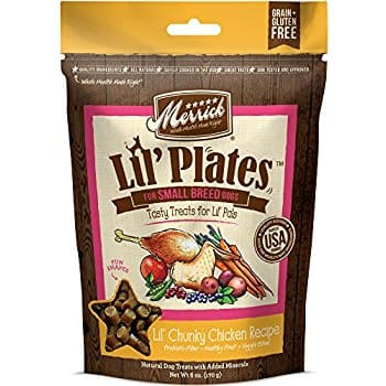 5oz Merrick Lil Plates Lil' Chunky Chicken Recipe Dog Treat for $1.42 w/ S&S + Free S&H