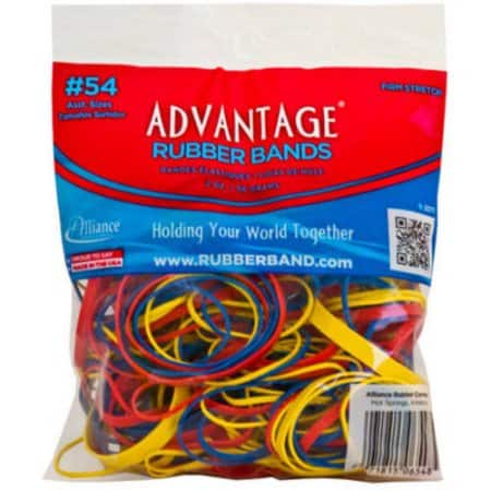 2oz Alliance Assorted Rubber Bands - 2 for $0.78 + Free Store Pickup