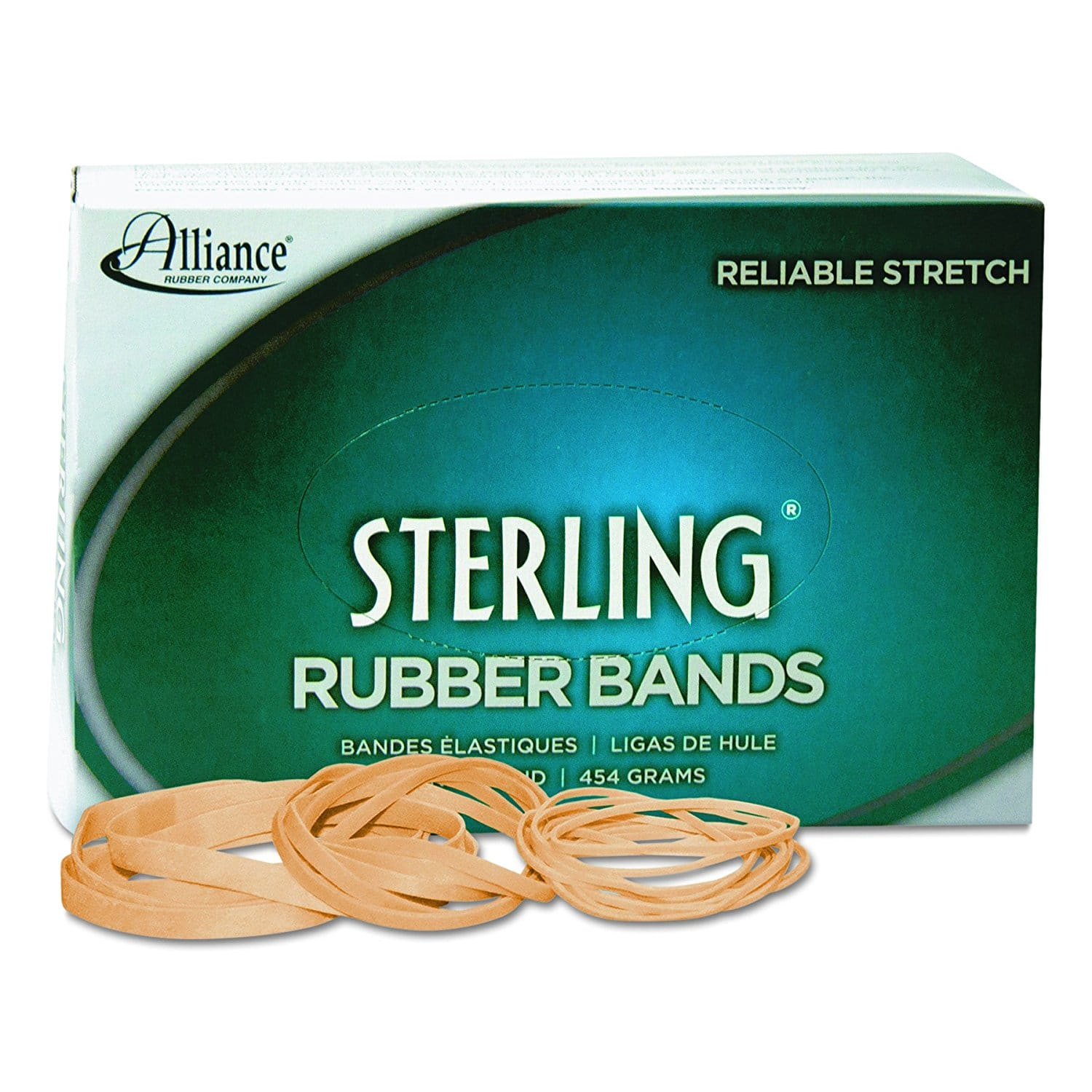 "1200ct Sterling Rubber Bands (31, 2.5"" x 1/8"") for $2.05 + Free Prime Shipping"