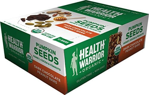 12ct Healthy Warrior Pumpkin Seed Protein Bars (Dark Chocolate Peanut) $7 AC + Free Prime Shipping (Lightning Deal)