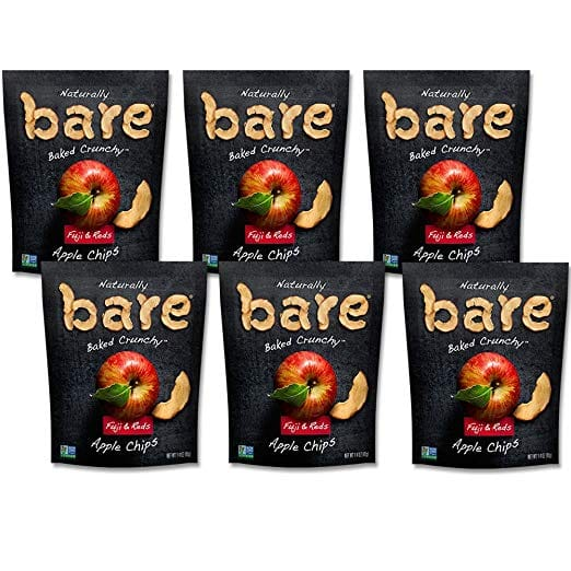 6-Pack 1.4oz Bare Natural Baked Apple Chips (Fuji & Reds) $5.52 w/ S&S + Free S/H