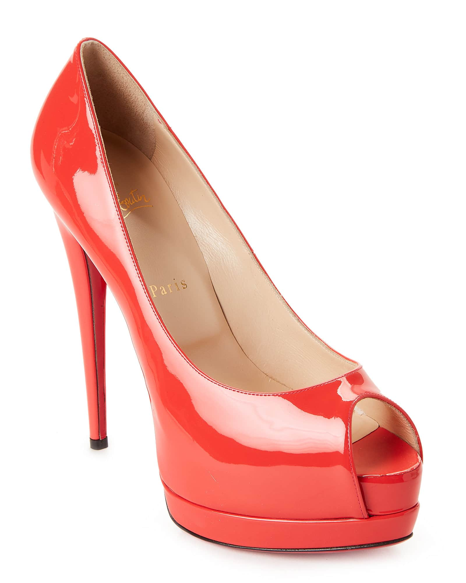 6830900e7c9 Christian Louboutin Palais Peep Toe Platform Pumps (Various Colors ...