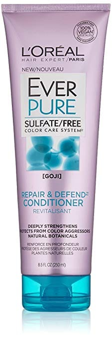 $2.50 off Select L'Oréal Paris Ever Hair Care Products: From $1.29 AC w/ S&S (8.5oz EverPure Sulfate Free Repair and Defend Conditioner for $1.29)