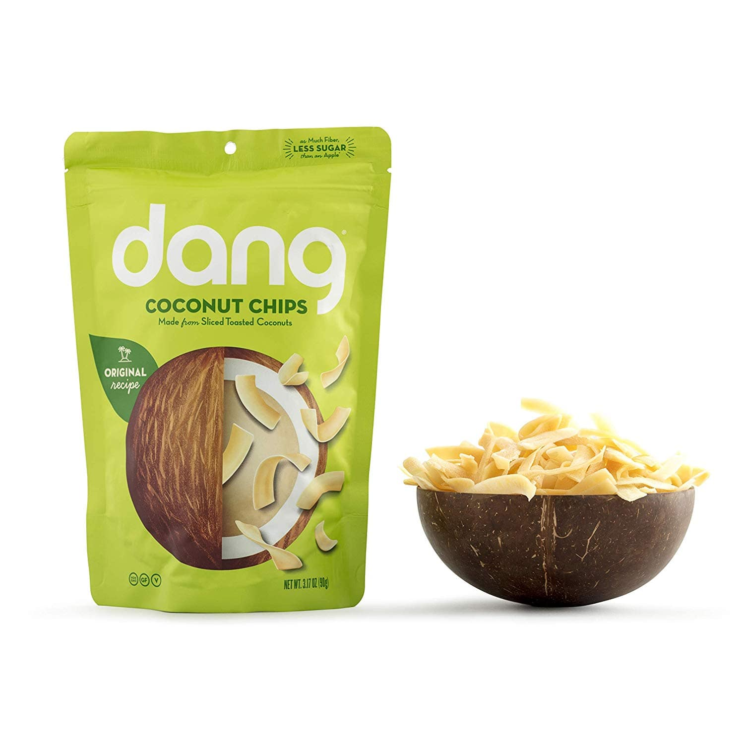 Select Accounts: 3.17oz Dang Toasted Coconut Chips (Original) $1.87 AC w/ S&S