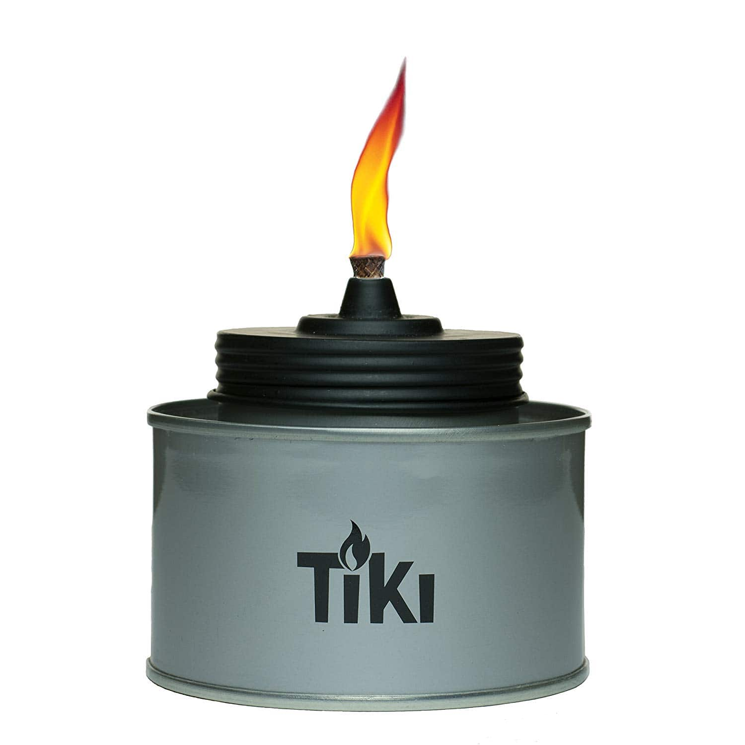 "TIKI Brand 4.5"" TIKI Tin Table Torch (Silver) $0.75 + Free Prime Shipping"
