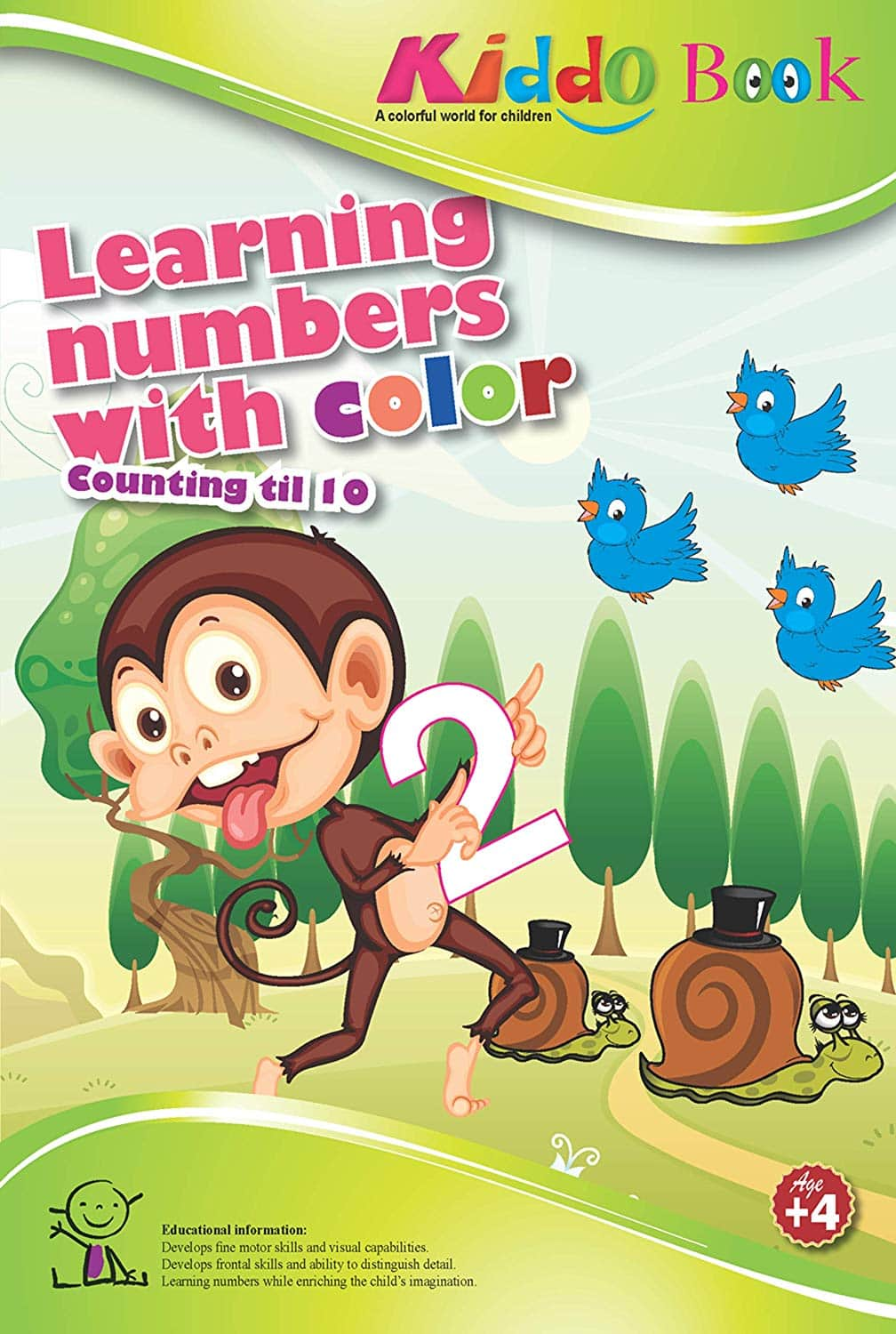 Kiddo Books: My First ABC Booklet or Learning Numbers w/ Color Booklet $0.83 each + Free Prime Shipping